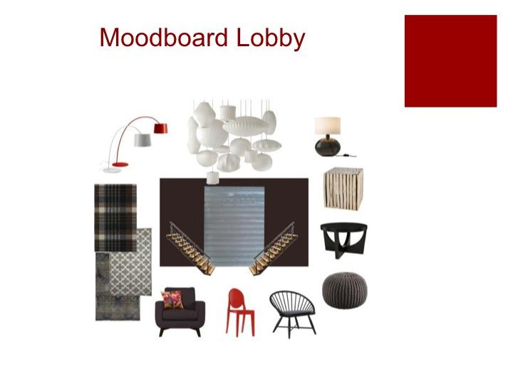 Moodboard Hotel Lobby