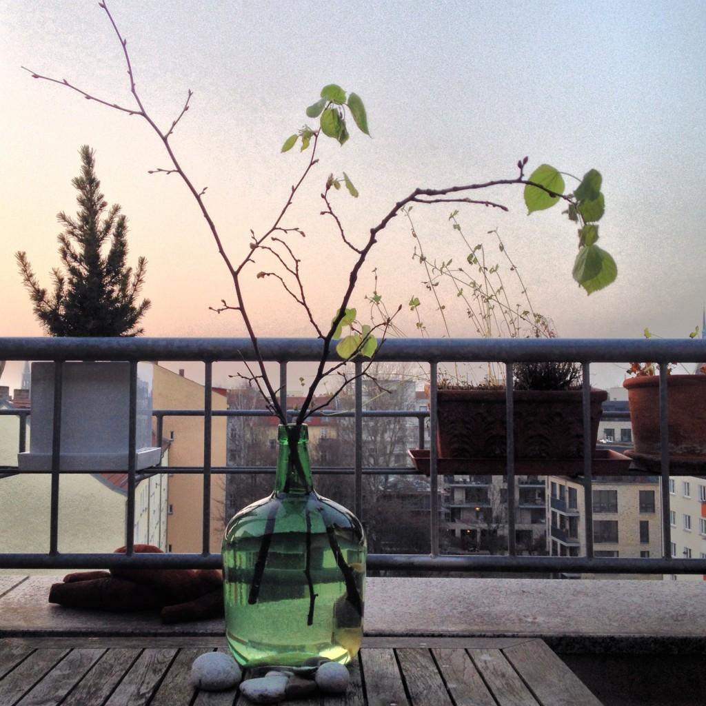 Balkon – schon mal aufgeräumt