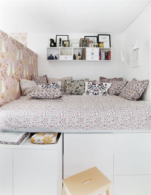 10mal diy betten mit stauraum laux interiors. Black Bedroom Furniture Sets. Home Design Ideas