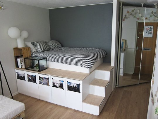 10mal diy stauraumbetten laux interiors berlin. Black Bedroom Furniture Sets. Home Design Ideas