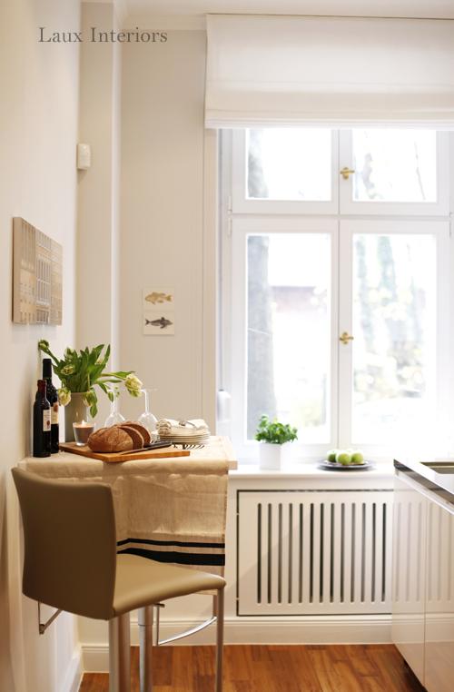 Wandtisch küche  Projekt Charlottenburg - Küche - Laux Interiors Berlin
