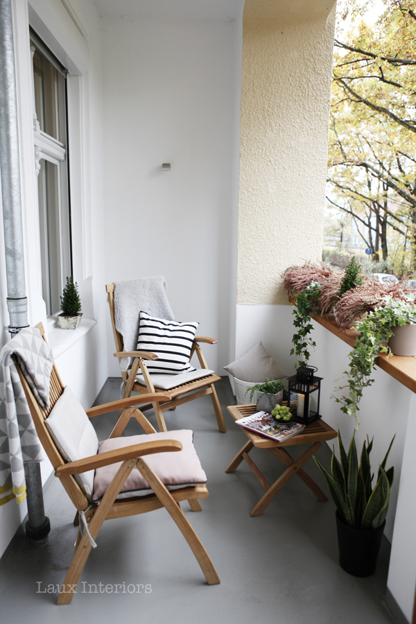 Balkon gestalten