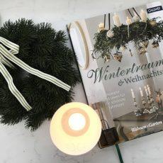 """Buchtipp: """"Wintertraum & Weihnachtszeit"""" und ein Rezept für Zimtsterne"""